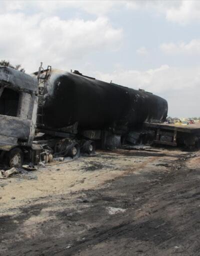 Yakıt tankeri ile kamyon çarpıştı: 50 ölü