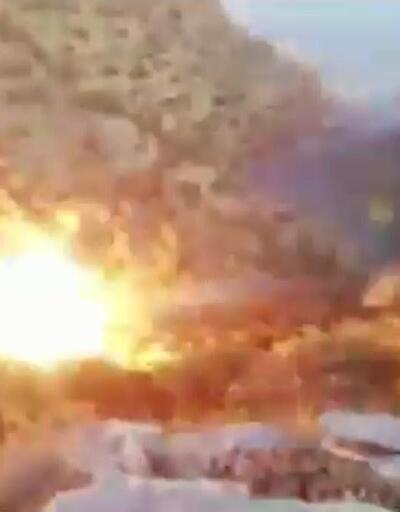 Mardin'de 2 PKK'lının öldürüldüğü operasyon anları