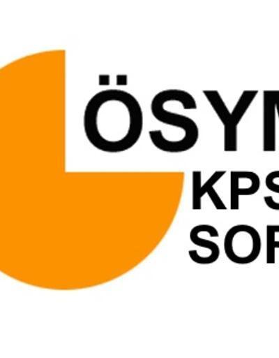 2020 KPSS soru ve cevapları açıklandı mı? Genel Yetenek ve Alan Bilgisi soruları