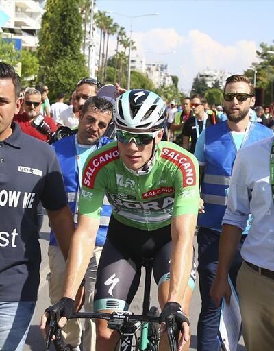 Cumhurbaşkanlığı Bisiklet Turu'nun 2. etabını Sam Bennett kazandı