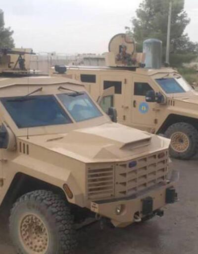 YPG'ye 300 zırhlı askeri araç gönderildi