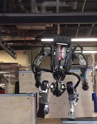 Boston Dynamics Robot Atlas'ın son videosunu yayınladı