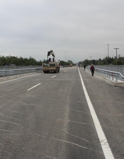 Selde yıkılan Cevizdere Köprüsü'nün yerine yeni köprü