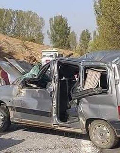 Yozgat'ta kaza: Anne öldü, eşi ve 3 çocuğu yaralı