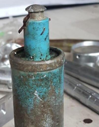 Dağ yolunda bulunan cisim, bomba paniğine neden oldu
