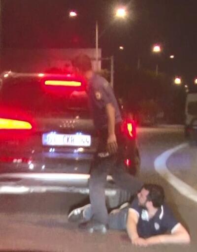 Ehliyetsiz sürücü 6. kez alkollü yakalandı
