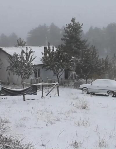 Marmara ve Ege'de yılın ilk karı yağdı