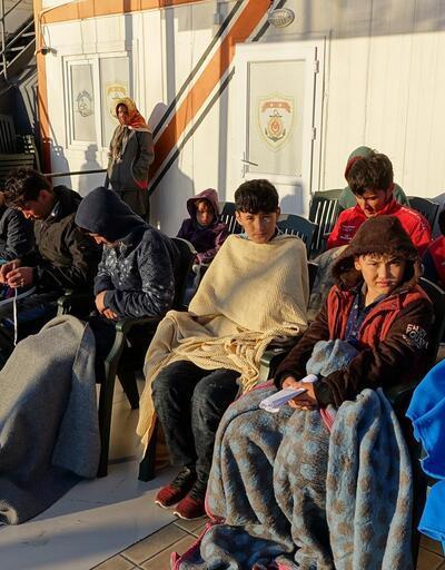 Çanakkale'de 54 Afgan kaçak yakalandı