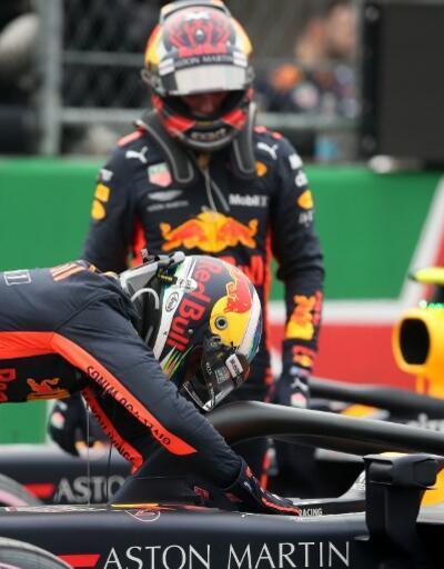 Meksika'da ilk sıra Daniel Ricciardo'nun