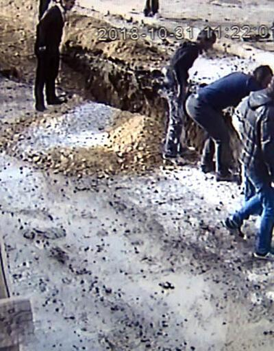 Ankara'da göçük: 1 işçi yaralandı