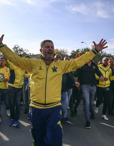 Fenerbahçe taraftarı derbiye böyle gitti