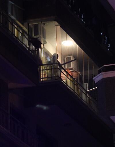 Korkunç olay... 4. kattan çarşafla inmeye çalışırken düştü