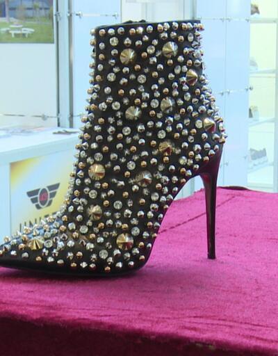 93 bin TL'ye el emeği ayakkabı