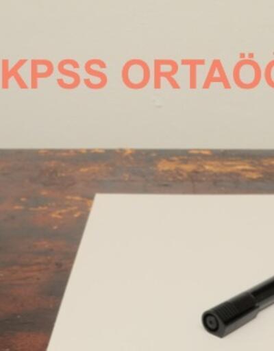Bugün açıklanıyor! 2018 ÖSYM KPSS ortaöğretim sonuçları sorgulama sayfası