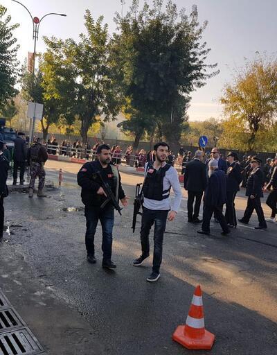 Siirt'teki anma töreninde plakasız araç alarmı