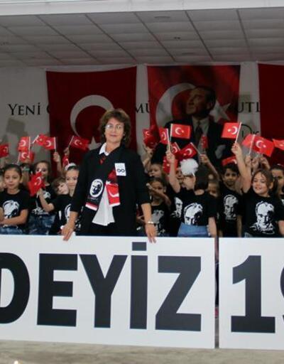 Çan'da 10 Kasım Atatürk'ü Anma töreni gerçekleştirildi