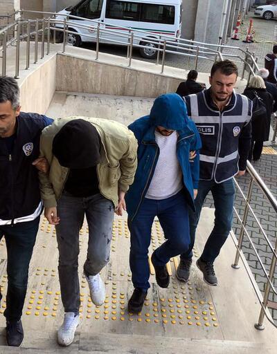 Parayı alırken yakalanan dolandırıcılar tutuklandı