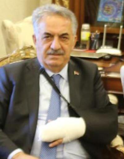 AK Partili Hayati Yazıcı kaza geçirdi
