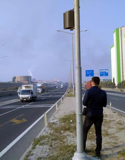 Turgutlu'da drone'lu denetimde sürücülere ceza yağdı