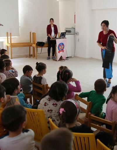 Denizli Büyükşehir'den miniklere çevre eğitimi