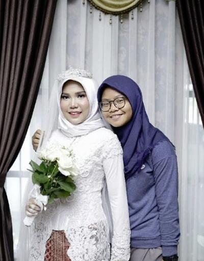 Nişanlısı ölünce tek başına düğün fotoğrafı çektirdi