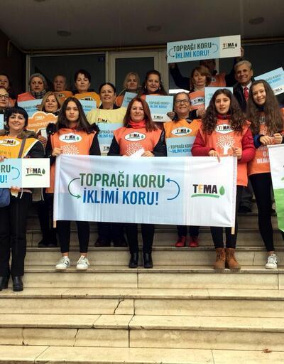 TEMA, Zonguldak'ta iklim değişikliğine dikkat çekti