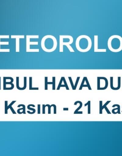 İstanbul hava durumu beş günlük veriler Meteoroloji tarafından açıklandı