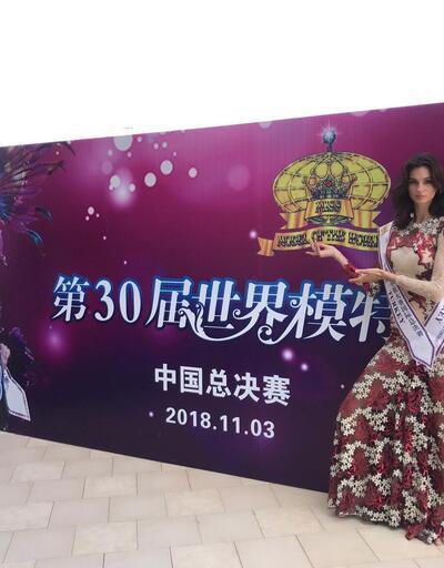 İzmirli Pınar 'Dünya Mankenler Kraliçesi' seçildi