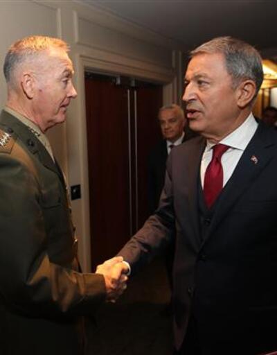 Milli Savunma Bakanı Akar'ın temasları sürüyor