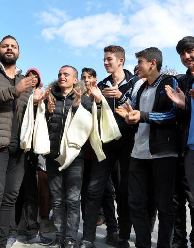 Erzurum'un soğuğuna 'potor'lu şarkı