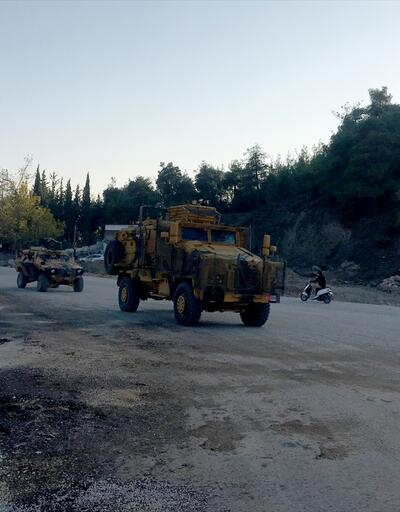 Suriye sınırındaki birliklere askeri takviye