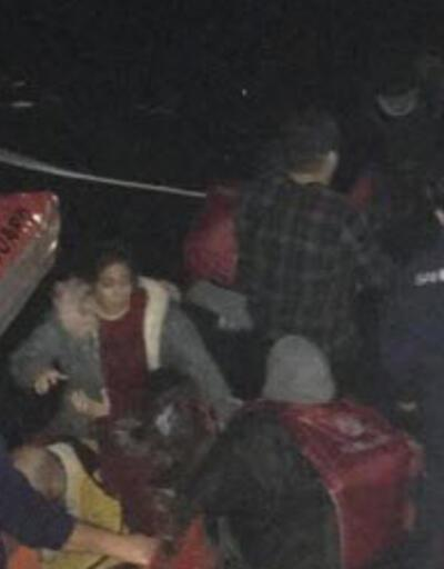 Son dakika: Bodrum'da göçmen teknesi battı