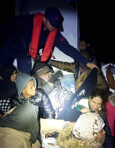 Bodrum'da 20 kaçak yakalandı