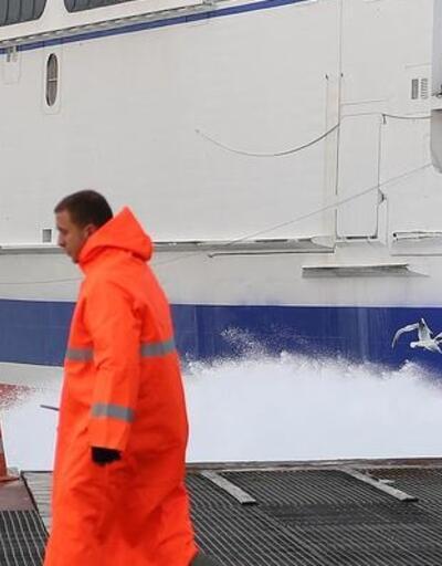 Fırtına deniz ulaşımını engelliyor