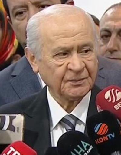 MHP Genel Başkanı Devlet Bahçeli: Cumhur İttifakı iyi gidiyor