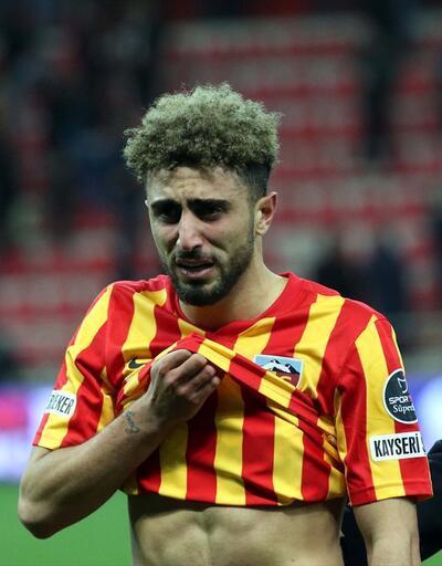 Kayserisporlu futbolcular yıkıldı
