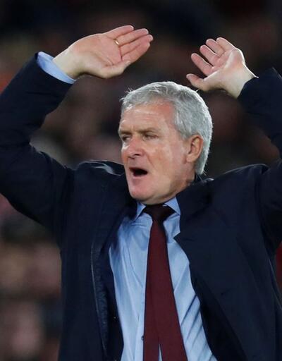 Southampton'da Hughes'la yollar ayrıldı