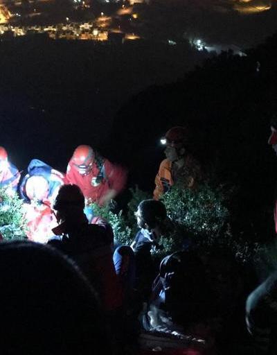 Kurtarılan dağcı yaşadıklarını anlattı: Elbiselerimizi yaktık