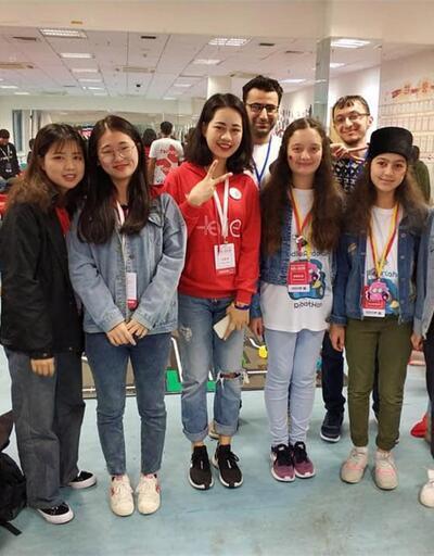 Ardahanlı kızlar, 'Robothan' projesiyle Çin'de ilk 10'a girdi