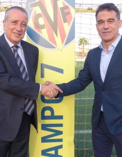 Villarreal'de teknik direktörlüğe Luis Garcia getirildi