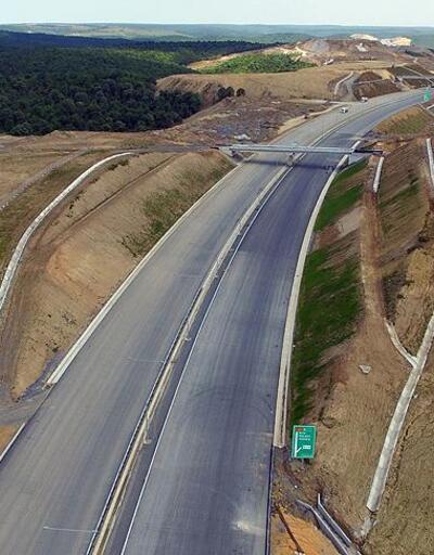 Kuzey Marmara Otoyolu Projesi'nde bir bölüm daha trafiğe açıldı