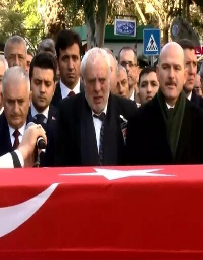 Binali Yıldırım, Atuğ Verdi'nin cenaze törenine katıldı