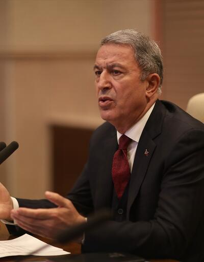 Milli Savunma Bakanı Akar'dan Dunford'a tepki