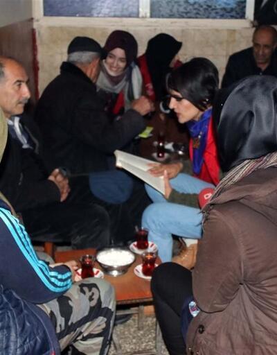"""Gönüllü gençlerden """"Kıraathaneler Aslına Dönüyor"""" projesi"""