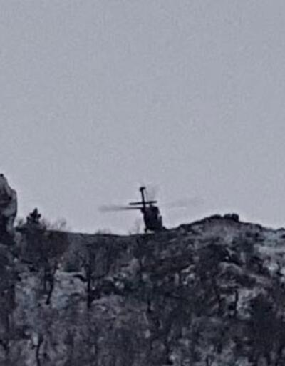 Mağarada saklanan teröristlerden 2'si öldürüldü