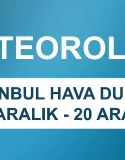 İstanbul hava durumu beş günlük gökyüzü verileri