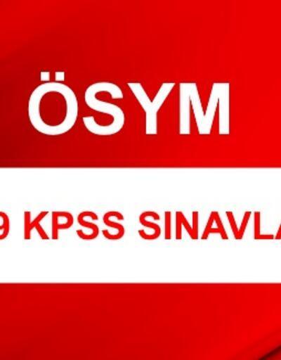 KPSS 2019 ne zaman? KPSS başvuru tarihi açıklandı