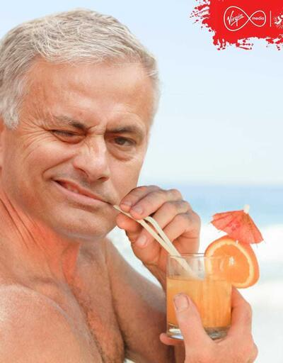 Jose Mourinho kovulunca sosyal medya