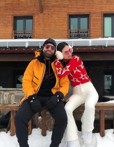 Yasemin Özilhan ve İzzet Özilhan'ın romantik dağ tatili