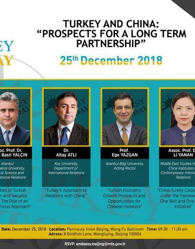 Cumhurbaşkanlığı'ndan, Çin'de 'Türkiye ve Çin: Uzun Vadeli İşbirliği Olasılıkları' paneli